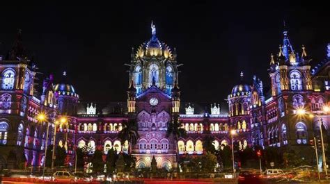 Diwali Light Decoration Home A Pictorial Journey Of Nightlife In Mumbai The City That