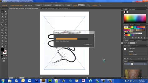 vector tutorial photoshop cs6 pdf turn a photo or image into a vector graphic in illustrator