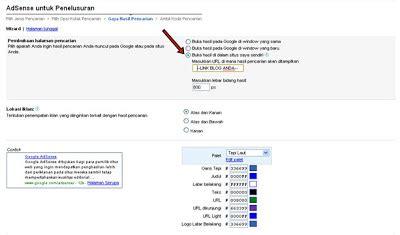adsense pada blog menilkan hasil pencarian google adsense pada salah satu