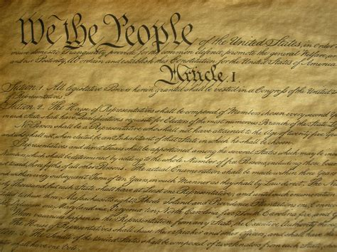 Us Constitution Sections by United States Constitution