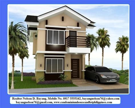 3 Bedroom House Design In Philippines by Two Storey Model House In The Philippines Studio