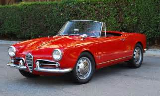 Alfa Romeo Giulietta Spider 1600 5 Speed 1961 Alfa Romeo Giulietta Spider Bring A