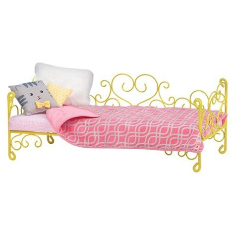 our generation doll bed our generation metal bed target