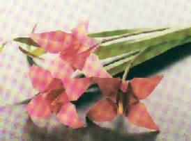 donare un fiore origami