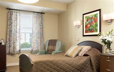 decorate nursing home room rolling green village resident room senior living