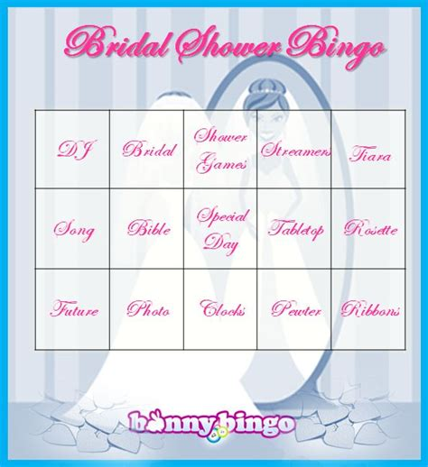 bridal shower bingo cards not online bingo bingo