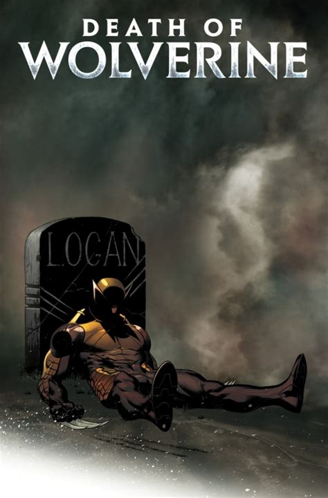 portada alternativa de la muerte de lobezno 1 de ed mcguinness