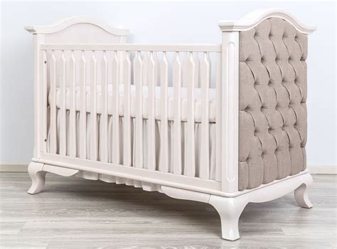 Tufted Baby Crib Tufted Baby Crib Convertible Crib Tufted Panels And Nursery Necessities In Interior Design