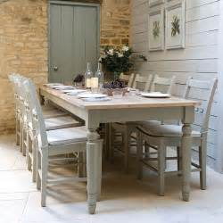 Country Style Kitchen Tables Modern Country Style Farrow And Shaded White With Farrow And Pigeon The