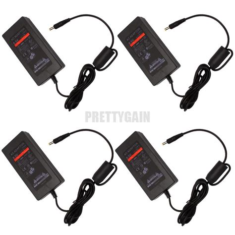 Ac Adaptor Ps2 Slim 4x power supply ac adapter charger cable cord for sony