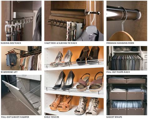 Closet Accessories by Ask The Home Organization Systems Designer Part Three