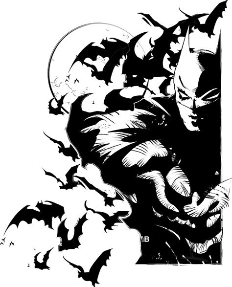 batman the dark knight by markbartle on deviantart