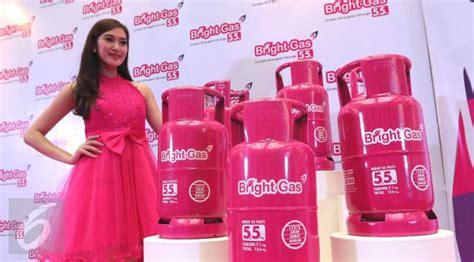 Tabung Elpiji Pink Elpiji Pink Untuk Kaum Hawa Resmi Diluncurkan Dengan Harga