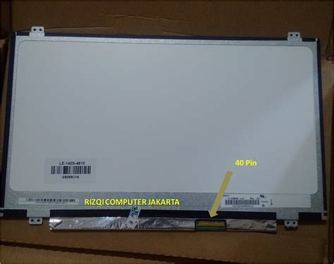 Lcd Laptop Acer 4738z 14 Inch lcd led 14 inch for acer aspire 14 z1401 dan e1401 blakang