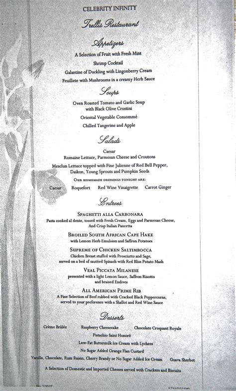 alaska menus