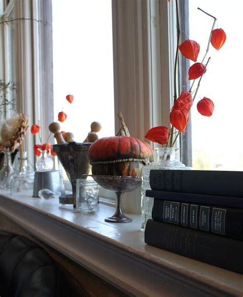 Window Sill Inspiration Windowsill Decorating Inspiration Decorate Your Home For Fall Shelves Chic And