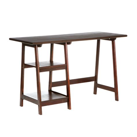 amazon com southern enterprises langston a frame desk 47