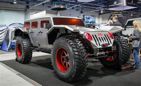most expensive jeep wrangler in the world the 50 most outrageous cars you must see from sema 2014