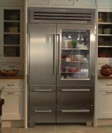 Sub Zero Refrigerator With Glass Door Vignette Design Glass Door Refrigerators
