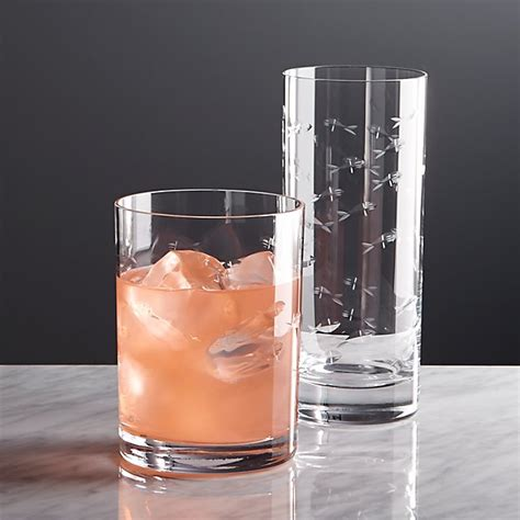 Crate And Barrel Barware by Reef Glasses Crate And Barrel