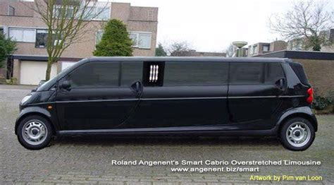 small limo smart car limo smart cars oh so small