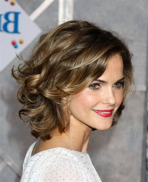 medium short curly hairstyle long thick curly hairstyles