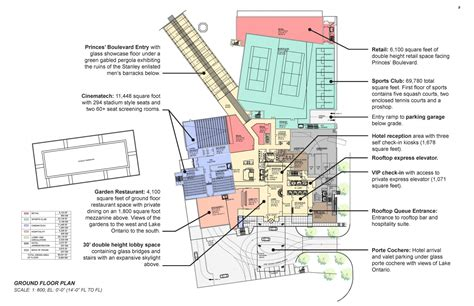 stanley hotel floor plan fort york and garrison common maps 2011 norr architects