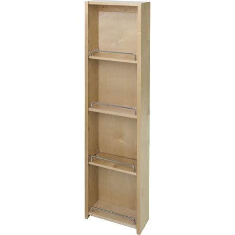 12 Pantry Cabinet by Hardware Resources Pdm45 12 Inch Wide 45 5 8 Inch
