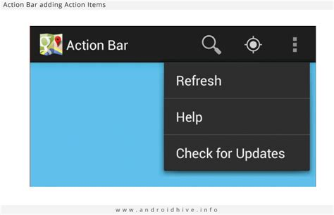 android themes with action bar android working with action bar tutorial