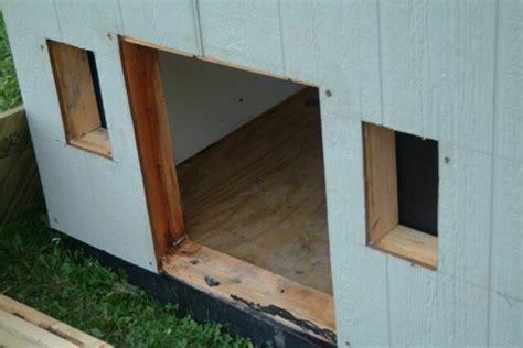 framing a dog house building a dog house