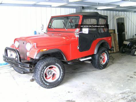 jeep cj5 1977 1977 jeep cj5 base sport utility 2 door 5 0l