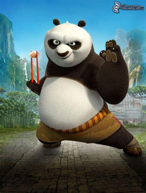 Tim Kungfu Panda panda po