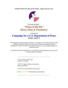 Fundraising Dinner Letter Fundraising Dinner Invitation
