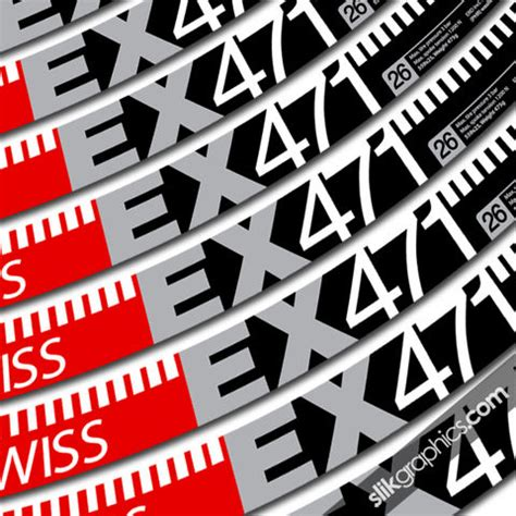 Felgenaufkleber Dt Swiss by Dt Swiss Collection Slik Graphics