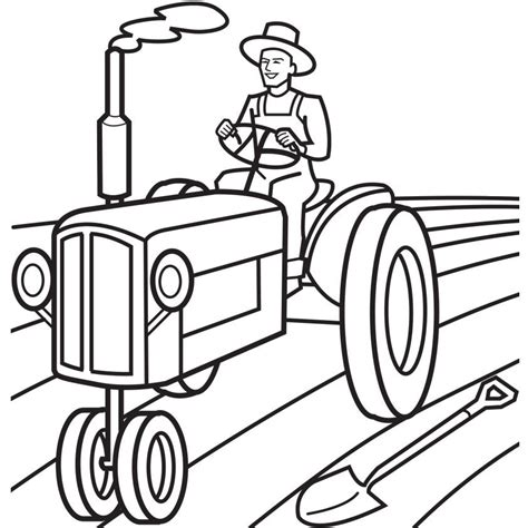 coloring page of john deere tractor john deere tractor coloring pages coloring home