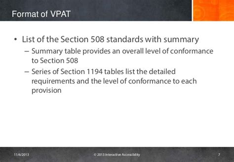 vpat template challenges with vpats