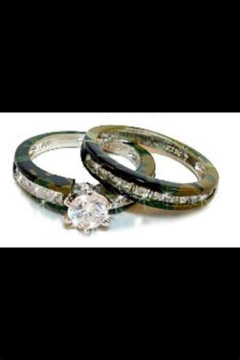 17 best images about camo wedding rings on