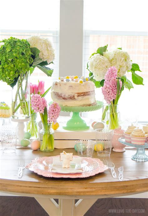fresh easter buffet table decorations 10093 simple formal clipgoo spring inspired tablescape chinet 174