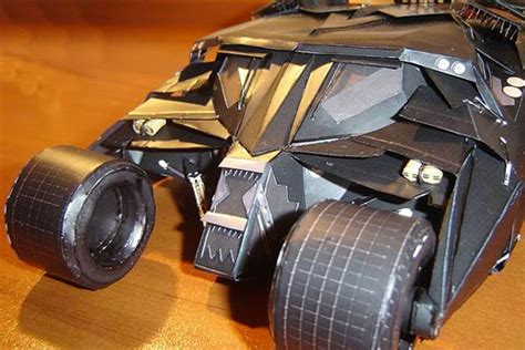 Batman Tumbler Papercraft - paper batmobile tumbler battastic gadgetheat
