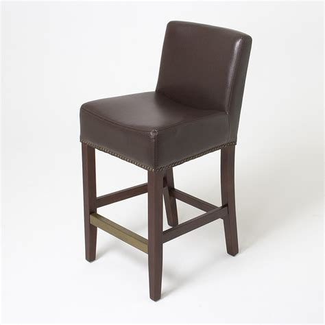 Brown Counter Stools by Brown Leather Counter Height Stools Stickers And