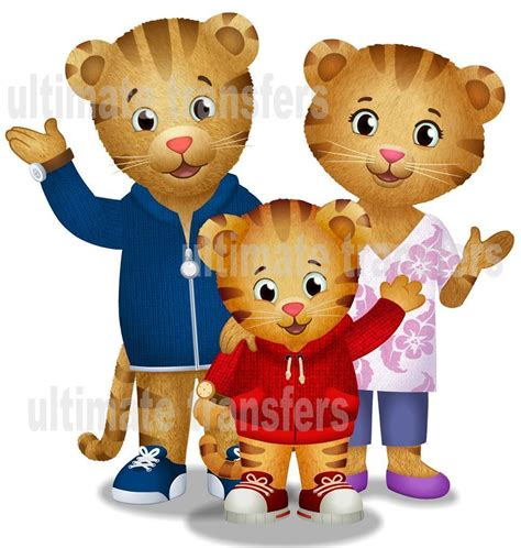 daniel has an allergy daniel tiger s neighborhood books daniel tiger s neighborhood family iron on transfer