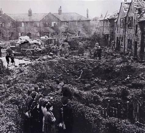 doodlebug oldham v1 attack on manchester 1944