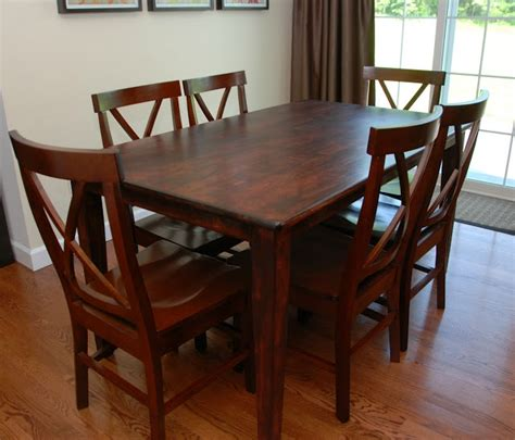 Refinished Kitchen Tables Refinished Kitchen Table To Do