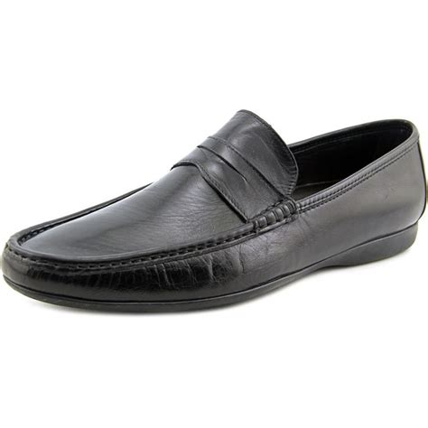bruno magli mens loafers bruno magli partie leather black loafer loafers