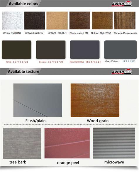 Insulated 8x7 Sectional Garage Door Buy Garage Door 8x7 Insulated Garage Door