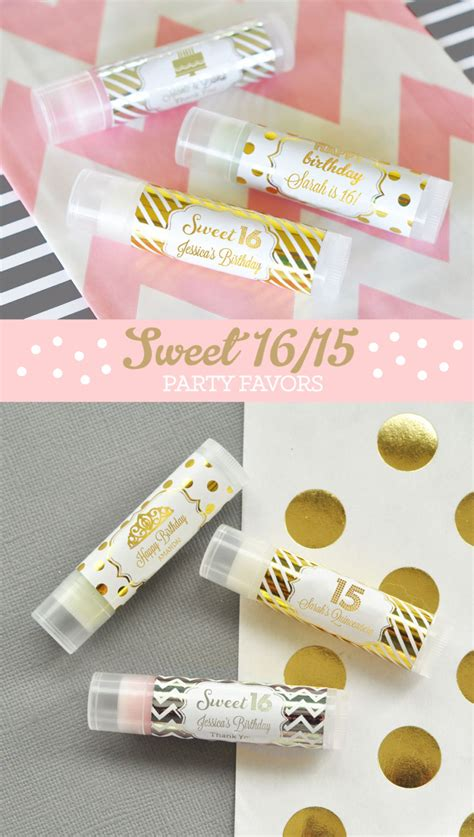 Sweet 16 Giveaways - sweet 16 favors sweet sixteen party favors sweet 16 party