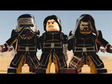 lego star wars the force awakens super silly sabers