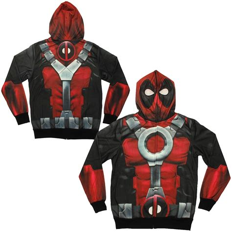 Jaket Sweater Overwatch deadpool sublimated costume hoodie