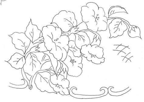 imagenes de flores grandes para pintar en tela molde de flores para pintar en tela imagui