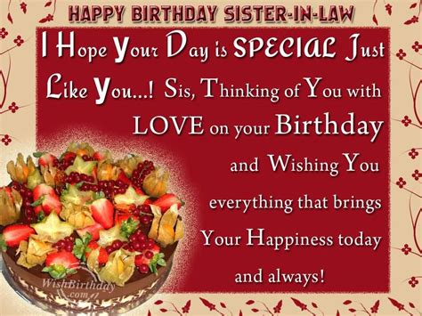 birthday wishes for sister in law nicewishes com